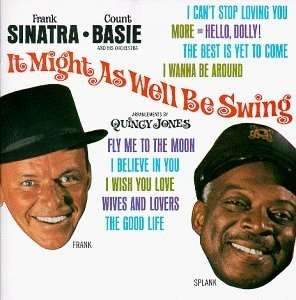 It Might As Well Be Swing album cover
