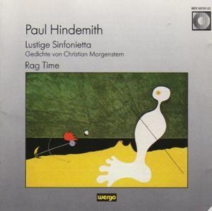 Hindemith-Lustige Sinfonietta album cover