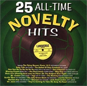25 All Time Novelty Hits album cover
