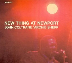 New Thing At Newport album cover