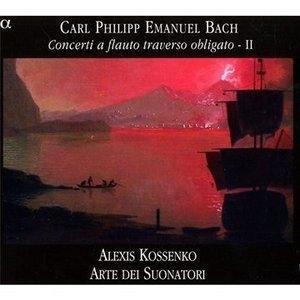 C. P. E. Bach: Concerti A Flauto Traverso Obligato, Vol. 2 album cover