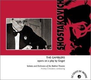 The Gamblers (Les Jouers): Opera (Original 1 Act Version) album cover
