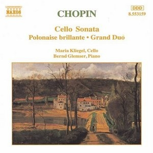 Chopin: Cello Sonata, Polonaise Brillante, Grand Duo album cover