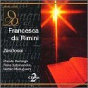 Zandonai: Francesca Da Rimini album cover