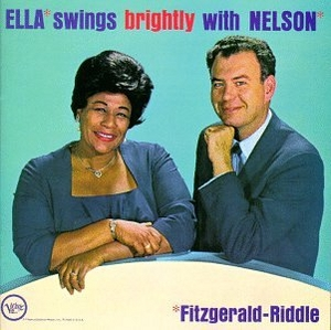 Ella Swings Brightly With Nelson album cover