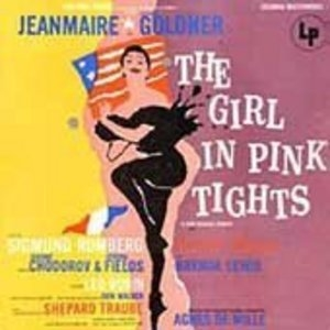 The Girl in Pink Tights (1954 Original Broadway Cast)  album cover