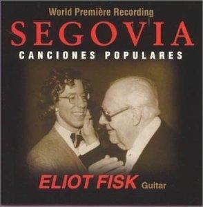 Segovia: Canciones Populares album cover