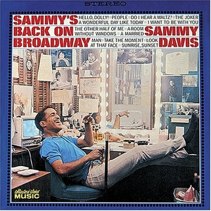 Sammy's Back On Broadway album cover