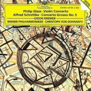 Glass: Violin Concerto, Schnittke: Concerto Grosso No.5 album cover