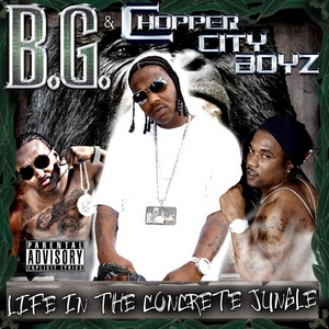 Life In The Concrete Jungle album cover