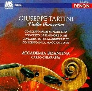 Tartini: Violin Concertos album cover