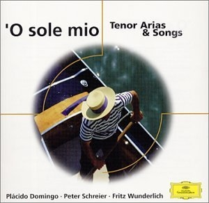 'O Sole Mio Tenor Arias & Songs album cover