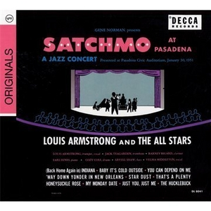Satchmo At Pasadena album cover