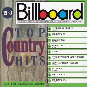 Billboard Top Country Hits: 1960 album cover