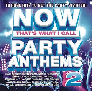 NOW That's What I Call Party Anthems 2 album cover