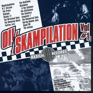Oi! Skampilation Vol #1 album cover