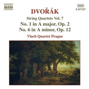 Dvorak: String Quartets, Vol. 7 album cover