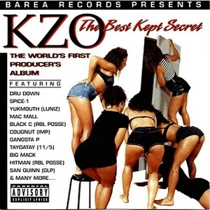 KZO: The Best Kept Secret album cover