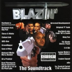 Blazin': The Soundtrack album cover