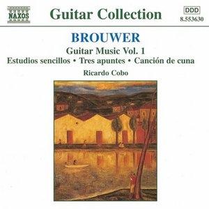 Brouwer: Guitar Music, Vol.1 album cover
