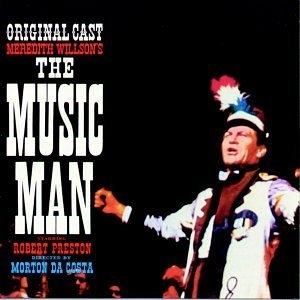 The Music Man (1957 Original Broadway Cast)  album cover