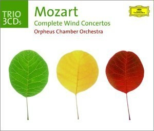 Mozart: Complete Wind Concertos album cover