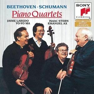 Schumann: Piano Quartet, Beethoven: Quartet album cover