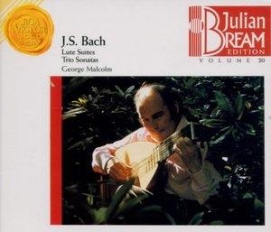 Bach: Lute Suites, Trio Sonatas album cover