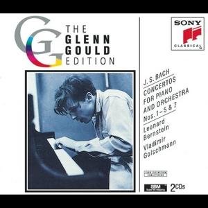 JS Bach: Concertos For Piano And Orchestra Nos.1-5 & 7 album cover