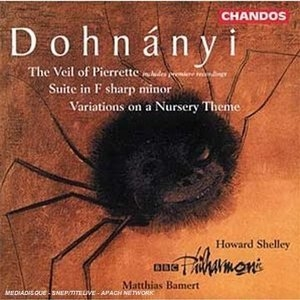 Dohnanyi: The Veil Of Pierrette album cover