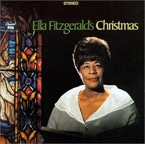 Ella Fitzgerald's Christmas album cover