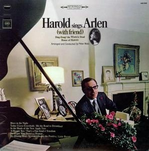 Harold Sings Arlen  (With Friend) album cover
