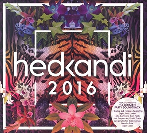 Hed Kandi: 2016 album cover