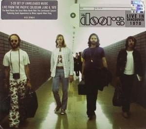 Live In Vancouver 1970 album cover
