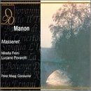 Massenet: Manon album cover