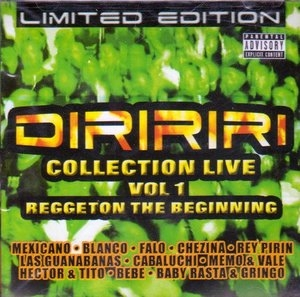 Diririri Collection Live Vol.1 album cover