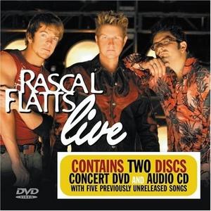 Rascal Flatts Live album cover