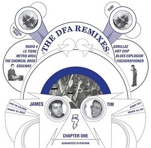 DFA Remixes, Chapter One album cover