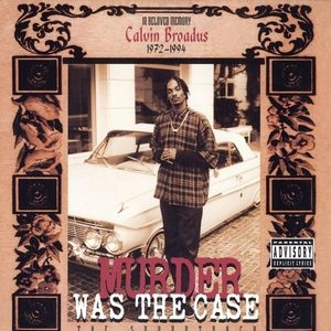 Murder Was The Case (The Soundtrack) album cover