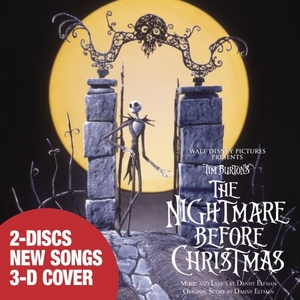 Tim Burton's The Nightmare Before Christmas album cover