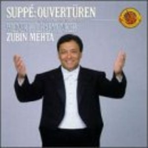 Suppe: Overtures album cover