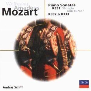 Mozart: Piano Sonatas K331, K332 & K333 album cover