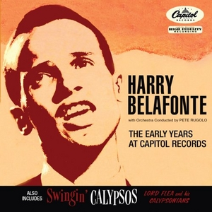 The Early Years At Capitol Records~ Swingin' Calypsos album cover
