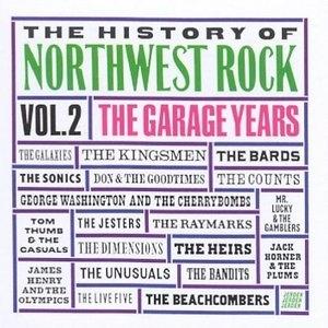 The History Of Northwest Rock Vol.2 (Jerden) album cover