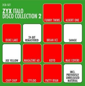 ZYX Italo Disco Collection 2 album cover