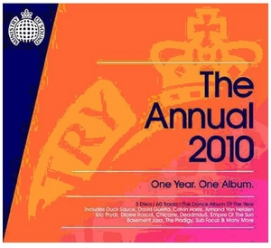 Ministry Of Sound: The Annual 2010 album cover