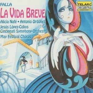 Falla: La Vida Breve album cover