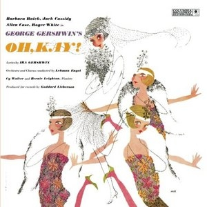 Oh, Kay! (1955 Studio Cast) album cover