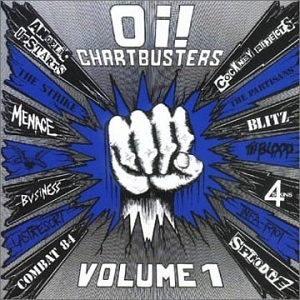 Oi! Chartbusters Vol.1 album cover