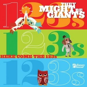 Here Comes The 123's album cover